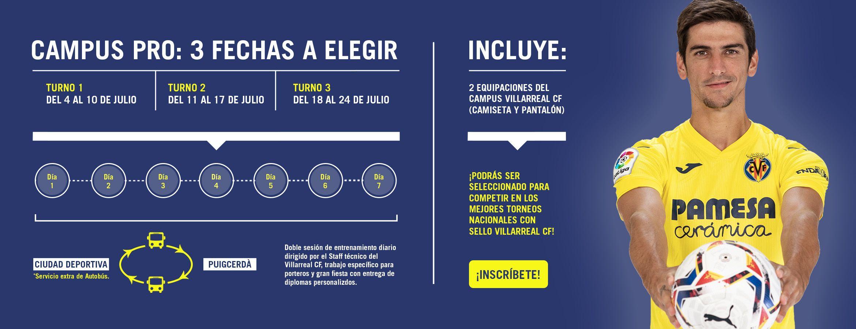 ¡REGRESA EN VERANO EL CAMPUS PRO DEL VILLARREAL CF!